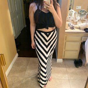 White House Black Market Maxi skirt